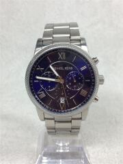 クォーツ腕時計/アナログ/ステンレス/ブルー/シルバー/MK-8395/レディース