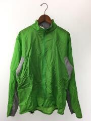 25020SP13/ナイロンジャケット/L/ナイロン/グリーン/緑/無地/薄手/アウトドア/レジャー