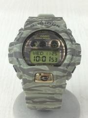 GD-X6900TC/タイガーカモ/クォーツ腕時計/デジアナ/ラバー/カモ柄/電池式/小物