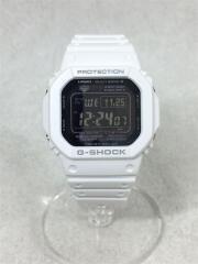 クォーツ腕時計/デジタル/ラバー/黒/白/GW-M5610MD-7JF/アクセサリー