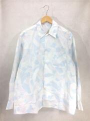 長袖シャツ/コットン/open collar shirt/オープンカラーシャツ/20SCTP01