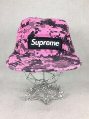 キャップ/帽子/ヘッドウェア/コットン/ピンク/ブラック/総柄//デジカモ/BOX LOGO