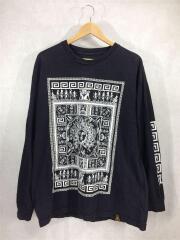LAST KINGS/長袖Tシャツ/90s/ヴィンテージ/バンTEE/コットン/BLK/セカスト