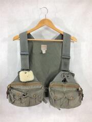 ベスト/コットン/カーキ/Fly Fishing Strap Vest/フィッシィング/132/ヴィンテージ2