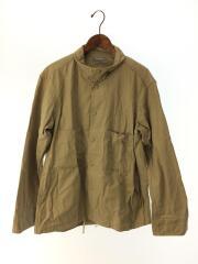 長袖シャツ/シャツジャケット/ライトアウター/FREE/コットン/ベージュ/91530307/中古