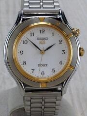ドルチェ/自動巻腕時計/3M21-OA4O/アナログ/ステンレス/白文字盤/ホワイト/ウォッチ