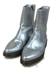 ドクターマーチン/ブーツ/US8/SLV/レザー
