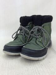 ブーツ/23cm/KHK/ナイロン