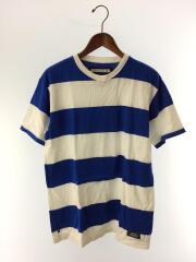 Tシャツ/M/コットン/青/白/ボーダー/191EPNH-CSM04