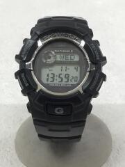 ソーラー腕時計/デジタル/BLK