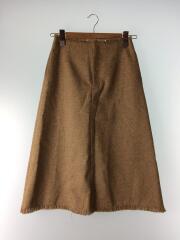 スカート/3/ポリエステル/BEG/無地/18SS/ミドルAラインスカート/18S67031