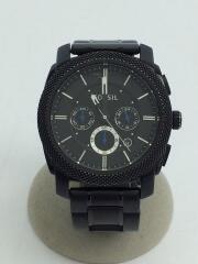 クォーツ腕時計/アナログ/ステンレス/BLK/BLK/FS-4552/ブラック/黒