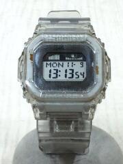クォーツ腕時計/デジタル/ラバー/CLR/GLX-5600KI/クリア