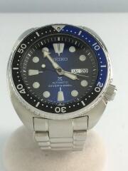 自動巻腕時計/アナログ/ステンレス/BLU/SLV/SBDY013R/4R36-04Y0