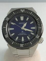 自動巻腕時計/アナログ/ステンレス/青/シルバー/SBDC047/6R15-03G0
