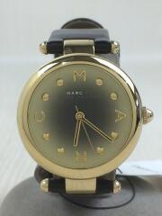 クォーツ腕時計/アナログ/レザー/ゴールド/金/mj1409/ウォッチ