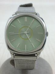 クォーツ腕時計/--/ステンレス/グリーン/緑/5530-f52258/シルバー/銀
