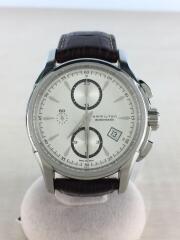 自動巻腕時計/アナログ/レザー/ブラウン/茶/H326160/ウォッチ