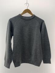 セーター(厚手)/Mサイズ程度/ウール/グレー/灰/143-90201/トップス
