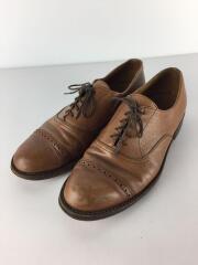 ドレスシューズ/27cm/ブラウン/茶/ストレートチップ/革靴