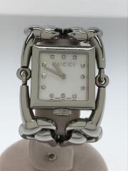 クォーツ腕時計/アナログ/ステンレス/シルバー/銀/シニョーリア 12P ダイヤモンド/116.3