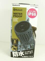 Owltech/防水・防塵ワイヤレススピーカー/OWL-BTSPWP02-GY/グレー