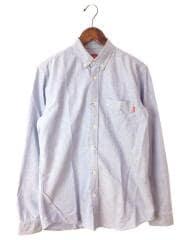 Oxford Shirts/13AW/長袖シャツ/M/コットン/IDG/襟シミ有