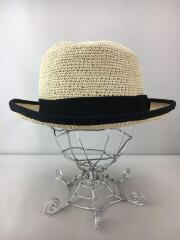 マニエラ/パナマハット/M/BEG/PANAMA SAILOR PACKABLE HAT