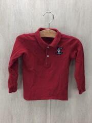 ポロシャツ/コットン/RED
