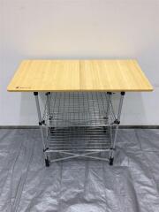 フィールドキッチンテーブル竹/CK-012T テーブル/1人用/BEG