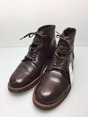 ×Museum Ark/Military Plain Toe Boots/ブーツ/UK9/BRW/45916
