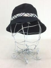 キッズ服飾/帽子/コットン/BLK