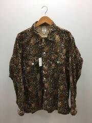 Smokey Shirt/長袖シャツ/S/コットン/BLK/総柄/GL827