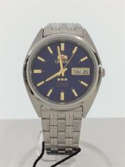 クォーツ腕時計/アナログ/ステンレス/BLK/FSZ2F001B0