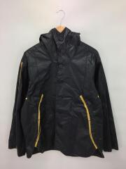 0004/フーデッドジャケット/MOP5054 K19SS-004/L/コットン/ブラック/黒