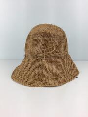 ハット/麦藁帽/ラフィア/ベージュ/キャメル