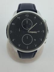 クォーツ腕時計/アナログ/--/ネイビー/紺/VD57-KY30