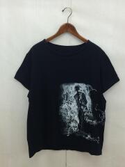 BS 13歳横PT半袖/Tシャツ/2/コットン/ブラック/黒/NN-T34-097
