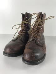 ブーツ/US9/BRW/レザー