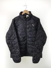 ダウンジャケット/834984/XL/ポリエステル/GRY/カモフラ