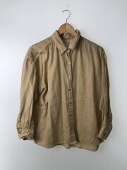オーバーサイズシャツ/--/リネン/BEG