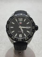 クォーツ腕時計/アナログ/ラバー/BLK/ダイバーズ FORMULA1 フォーミュラ1