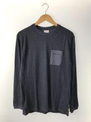 長袖Tシャツ/XL/ポリエステル/NVY