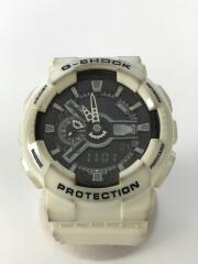 クォーツ腕時計・G-SHOCK/デジアナ/WHT