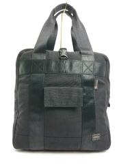 PORTER GEAR/BOSTON TOTE BAG/ボストントートバッグ/567-07724/ナイロン/BLK
