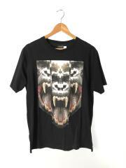 Tシャツ/LAS TORTOLAS/プリント/M/コットン/BLK