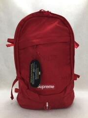 19SS/BACKPACK/コーデュラナイロン/SUPREME ロゴ/RED/SS19B6/バックパック リュック