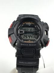 クォーツ腕時計・G-SHOCK/G-9000-1JF/デジタル/BLK/傷有