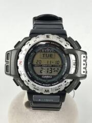 クォーツ腕時計/PROTREK/PRT-40/デジタル/風防傷有
