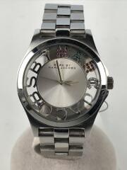 クォーツ腕時計/ヘンリースケルトン/MBM3262/アナログ/ステンレス/コマ無/汚れ・小傷有